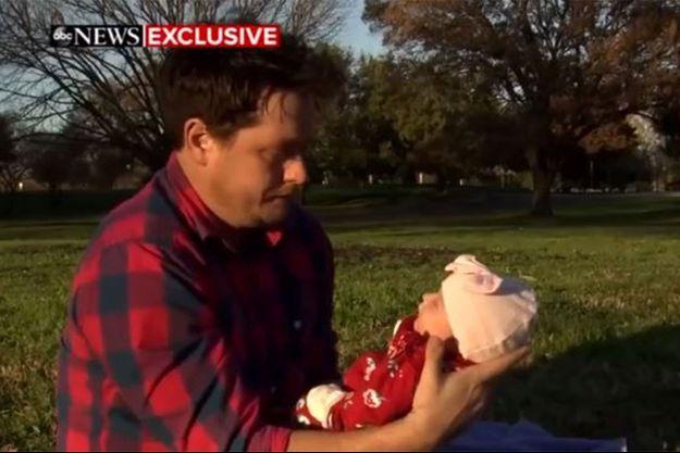 Shane Carey avec sa fille Margo