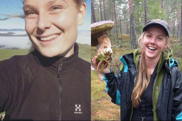 Louisa Vesterager Jespersen et Maren Ueland.