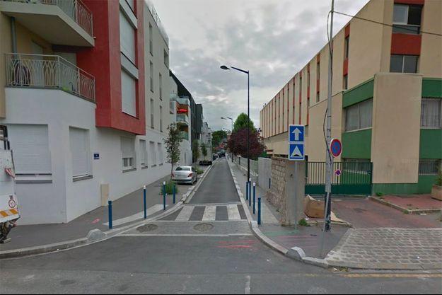 Rue Aragon à Aubervilliers