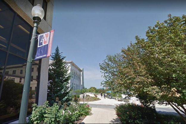 Les faits ont eu lieu à l'American University de DC.