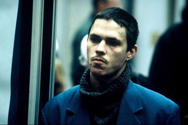 """Gérald Thomassin dans """"Paria"""", en 2000."""