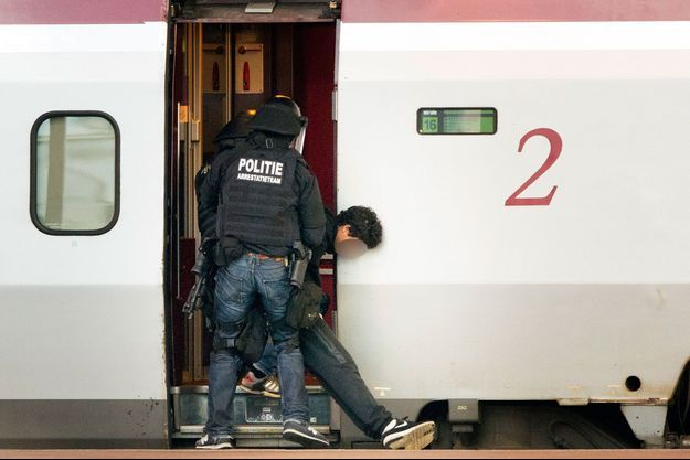 L'adolescent de 16 ans appréhendé par la police néerlandaise.