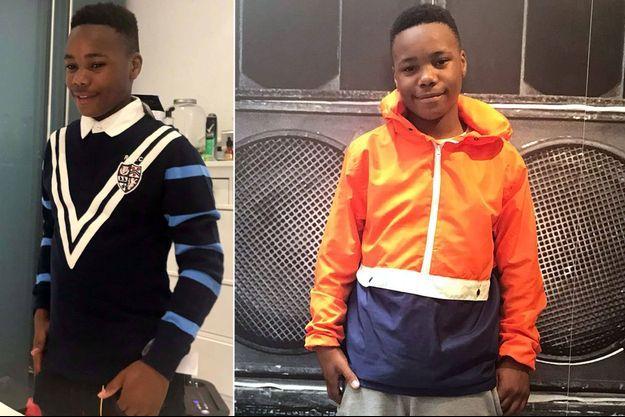 Jayden Moodie, 14 ans, a été tué dans l'est-londonien mardi 8 janvier 2019.