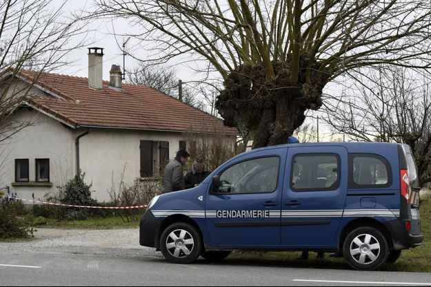 Le domicile d'une victime à Chabeuil, dans la Drôme.