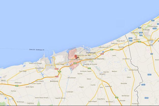Grande-Synthe dans la banlieue de Dunkerque