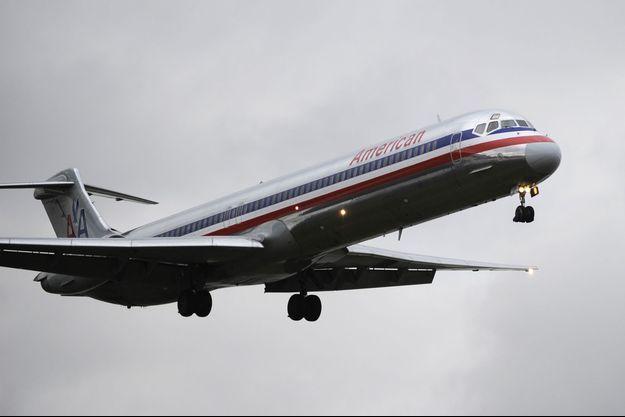 Un avion de la compagnie American Airlines, novembre 2011.