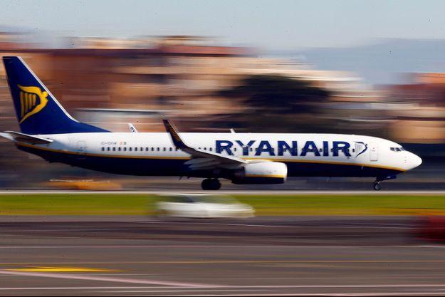 Un avion Ryanair à Rome (image d'illustration).