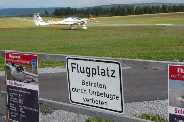 Un aérodrome à la Wasserkuppe (image d'illustration)