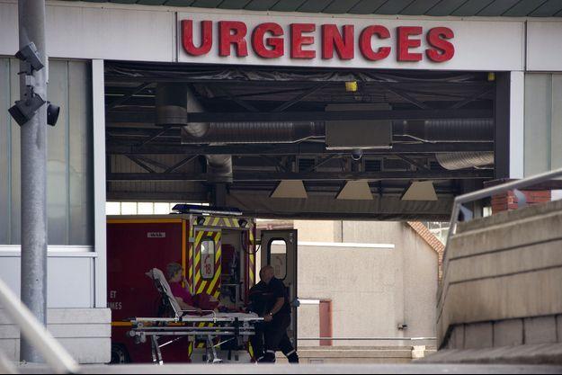 Les urgences de l'hôpital Purpan, à Toulouse.