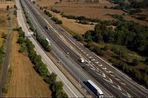 Une autoroute en Espagne (image d'illustration).