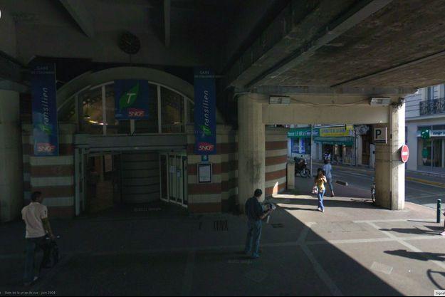 La gare de Colombes, lieu des agressions du mercredi 7 août.
