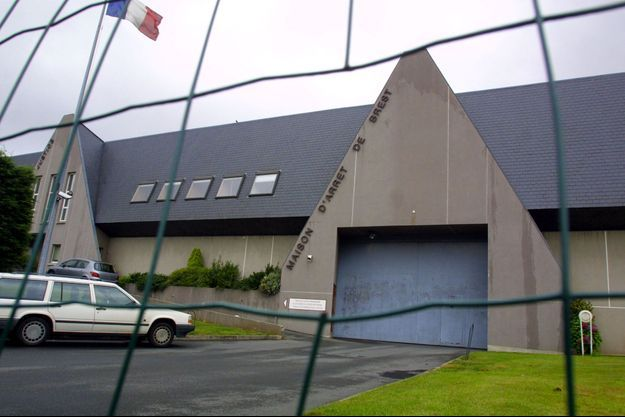 La maison d'arrêt de Brest.
