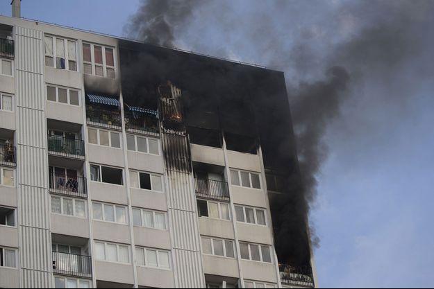 incendie Aubervilliers