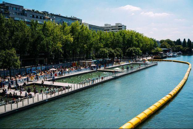 Bassin de la Villette à Paris