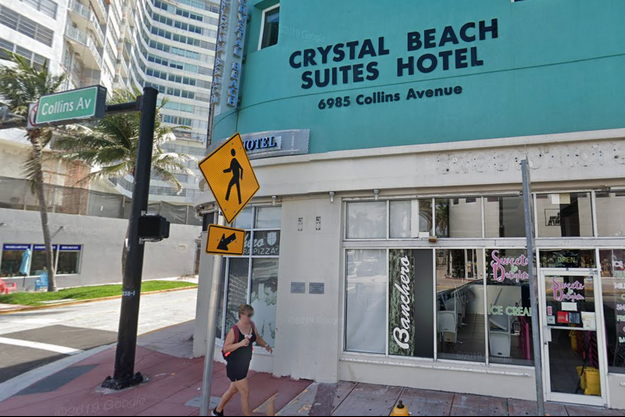 Crystal Beach Suites Hotel à Miami.