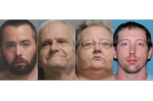 Les quatre suspects.