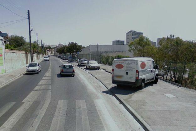 Le drame a eu lieu sur ce boulevard de Marseille.