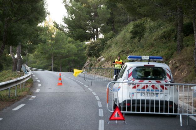 accident à Istres