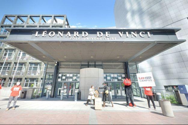 Le pôle Léonard de Vinci à Courbevoie, dans les Hauts-de-Seine