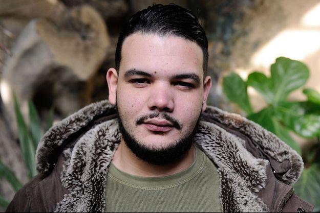 Le rappeur Sadek, en décembre 2016.