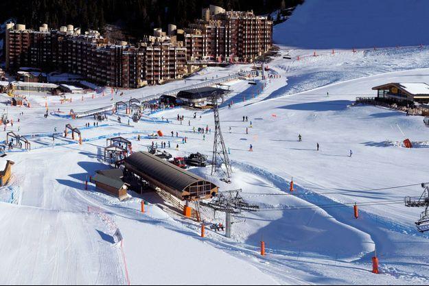 La station de Ski La Plagne, en Savoie.