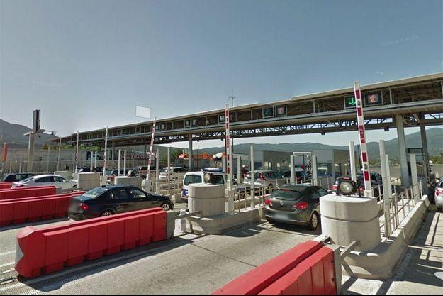 La gare de péage du Boulou, au sud de Perpignan (photo d'illustration).