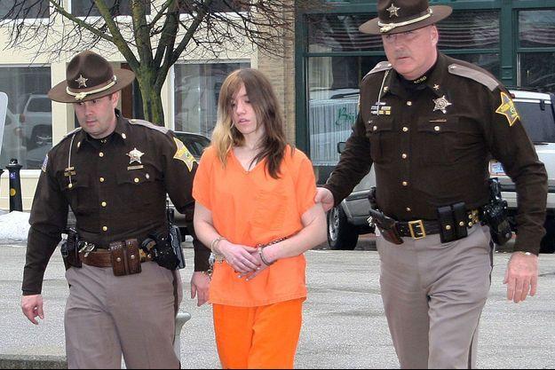 L'adolescente de 17 ans a été arrêtée dimanche.