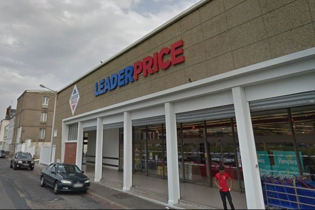 Le meurtre s'est déroulé devant ce supermarché au Havre.