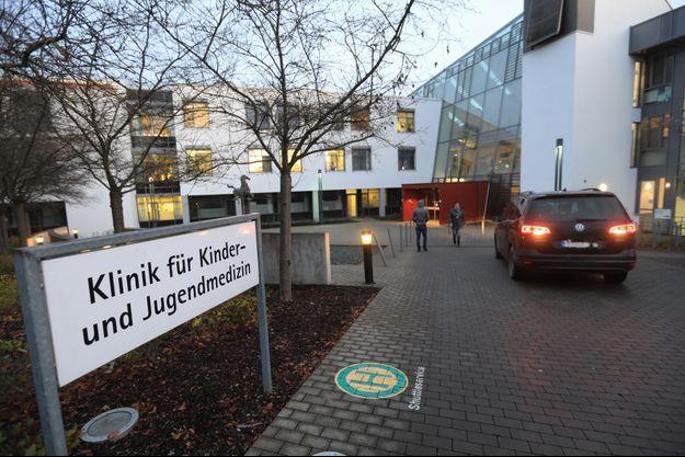 Hôpital de Ulm, le 29 janvier 2020.