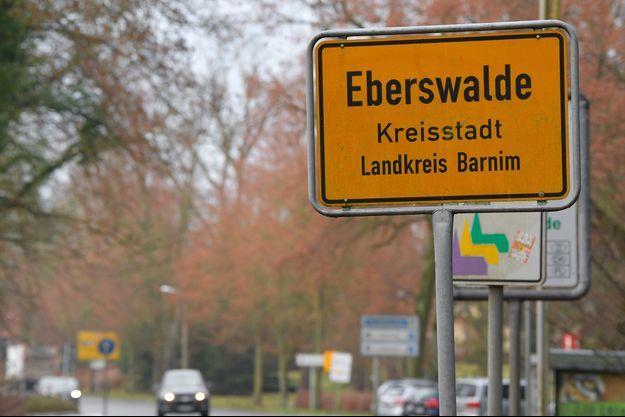 La fillette a été découverte à Eberswalde en Allemagne.
