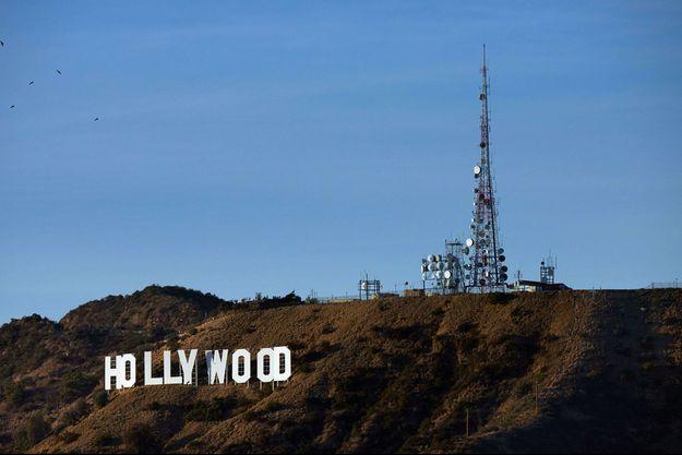 Le célèbre panneau Hollywood, à Los Angeles.