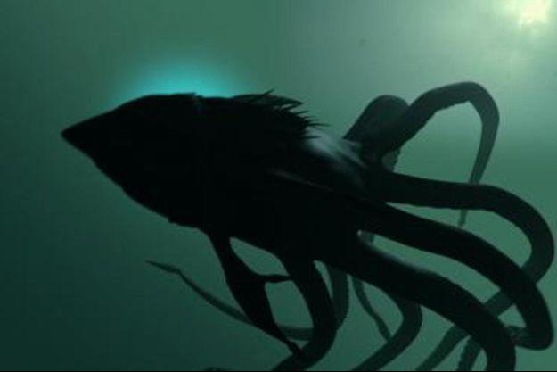 Sharktopus, la créature mi-pieuvre mi-requin