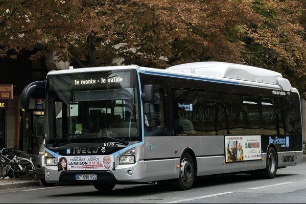 Un bus à Paris (image d'illustration).