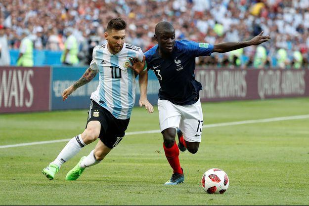 """N'golo Kanté """"a bouffé Lionel Messi""""."""