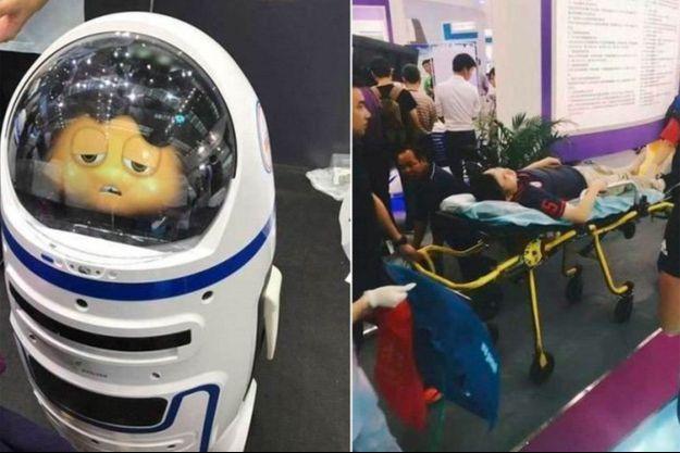 Le robot Xiao Pang