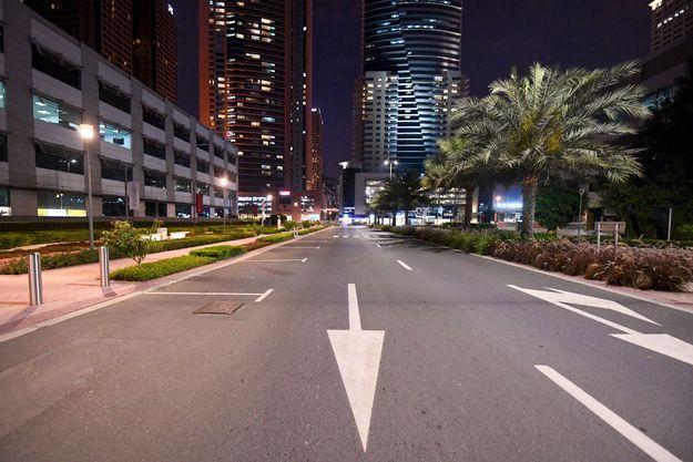 Dubaï désert, le 26 mars 2020.