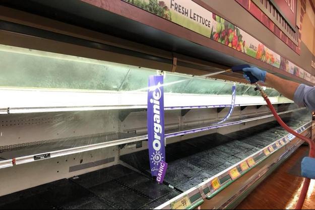 Supermarché «Gerrity's Supermarket» à Hanover dans le New Hampshire.