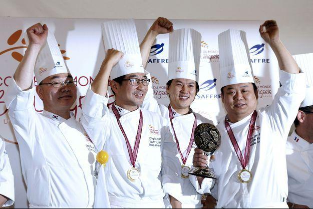 Les champions du monde de boulangerie.