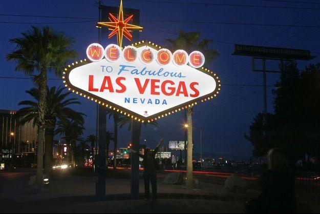 Le célèbre panneau de Las Vegas.