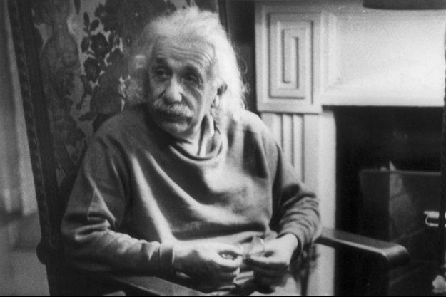 Albert Einstein en 1948.