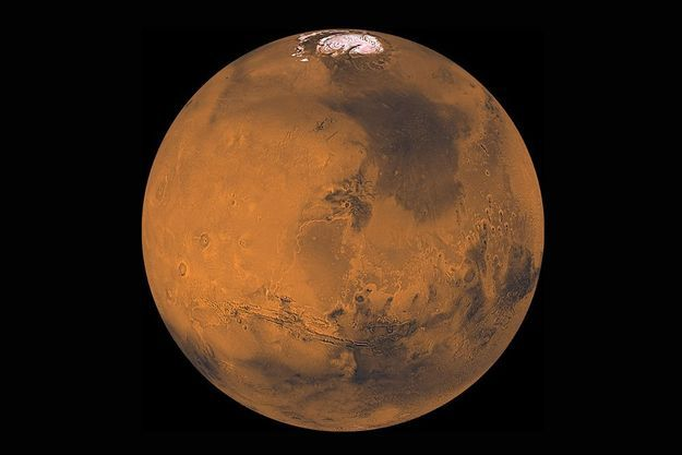 Mars, où selon Haim Eshed, une base secrète abriterait scientifiques américains et extraterrestres.