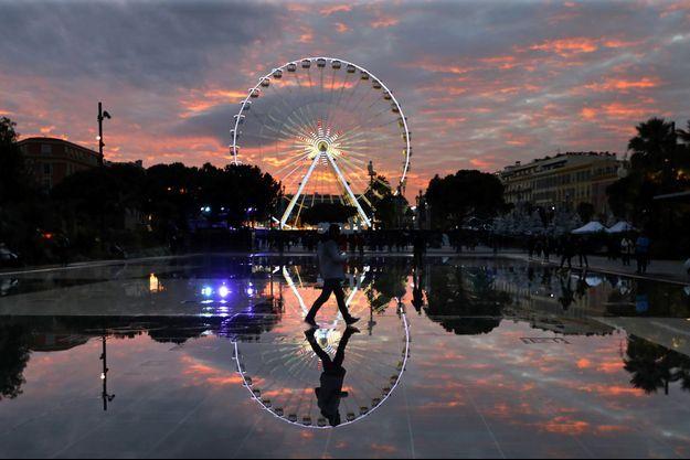 La grande roue de Nice.