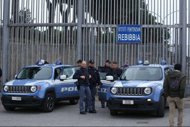 Les deux détenus s'étaient évadés de la prison de Rebibbia (image d'illustration).