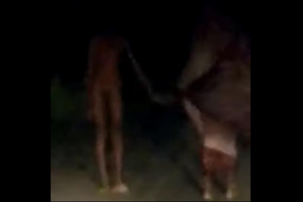 Une ambiance macabre très réussi pour cette vidéo qui risque de couter cher à ses auteurs.