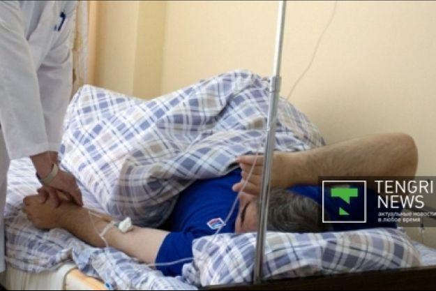 Un dormeur de Kalachi en observation à l'hôpital.
