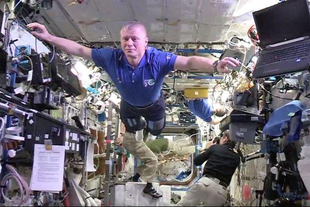Le Mannequin challenge des astronautes de l'ISS.