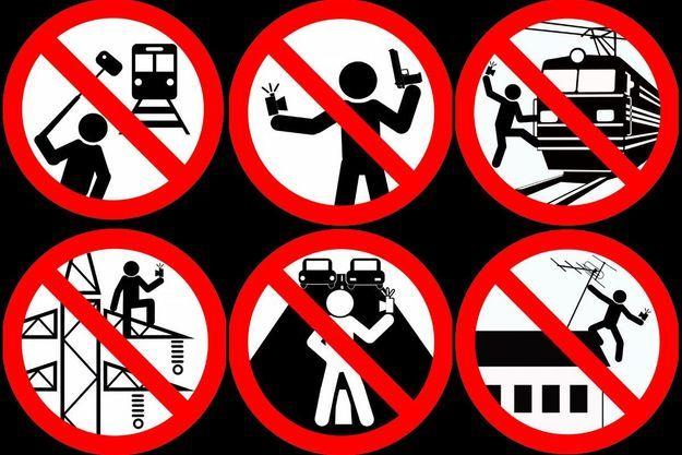 Les panneaux de signalisations détournés par le ministère intérieur de la Russie.