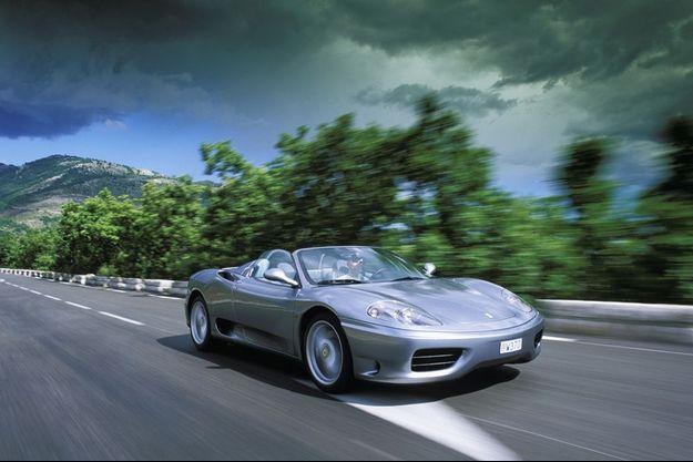 Une Ferrari 360 Modena (photo d'illustration)