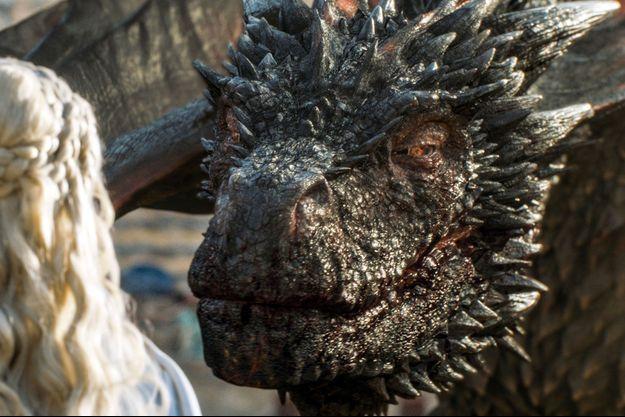 """Le dragon """"Drogon"""" de la série Game Of Thrones"""