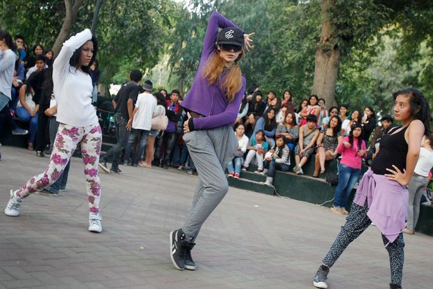 Des fans de K-Pop au Pérou